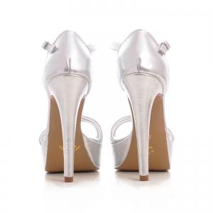 Sandale argintii, cu platforma2