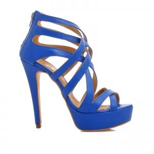 Sandale din piele albastra [0]
