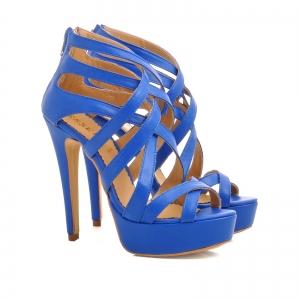 Sandale din piele albastra [1]