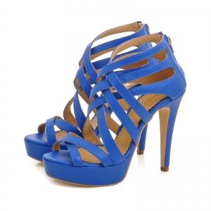 Sandale din piele albastra [2]