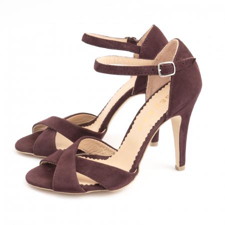 Sandale din piele intoarsa mov-pruna1