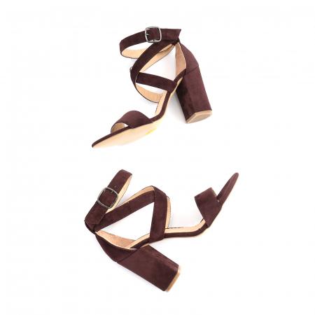 Sandale din piele intoarsa mov-pruna4