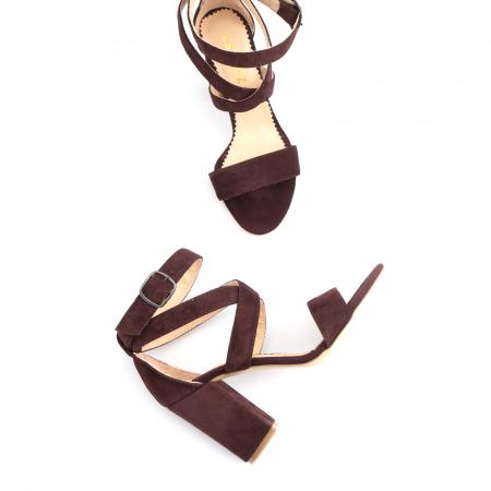 Sandale din piele intoarsa mov-pruna3