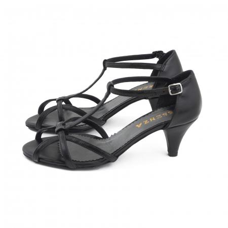 Sandale din piele naturala neagra [1]