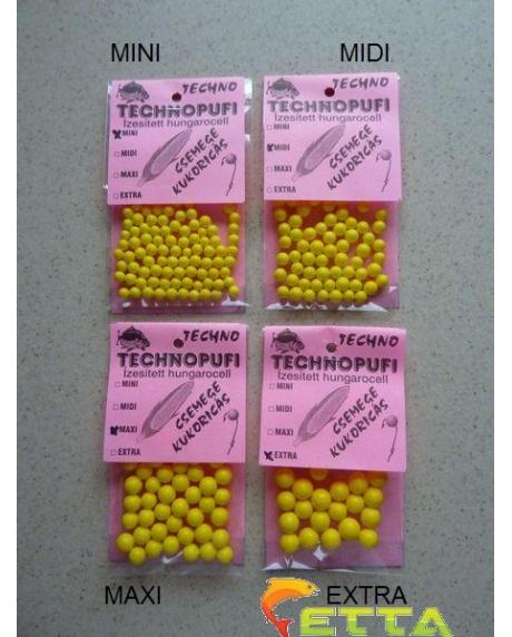 Technomagic Technopufi Sweetcorn (galben) mini 0