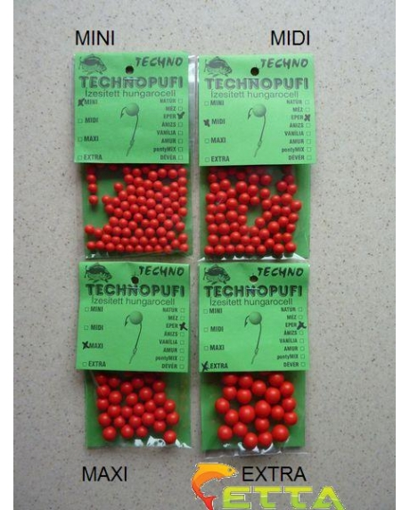 Technomagic Technopufi Capsuni (rosu) midi 0