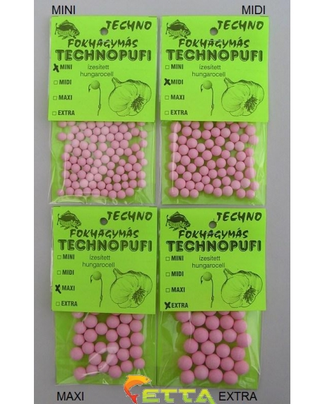 Technomagic Technopufi Natur (alb) mini 30