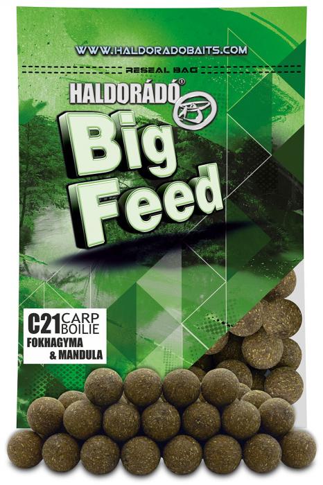 Haldorado Big Feed - C21 Boilie - Capsuna & Ananas 0.8kg, 21 mm [1]