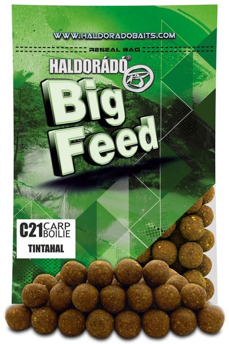 Haldorado Big Feed - C21 Boilie - Capsuna & Ananas 0.8kg, 21 mm [4]