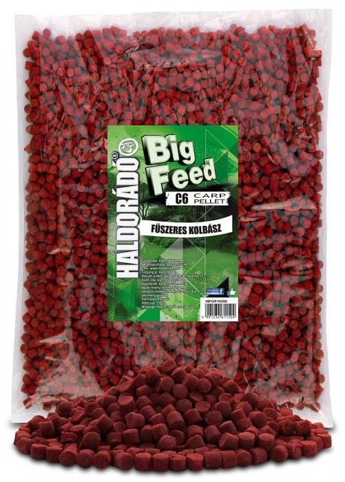 Haldorado Big Feed - C6 Pellet - Capsuna & Ananas 2.5kg, 6 mm 0