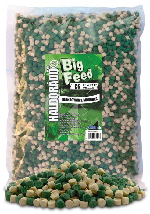 Haldorado Big Feed - C6 Pellet - Capsuna & Ananas 2.5kg, 6 mm 4