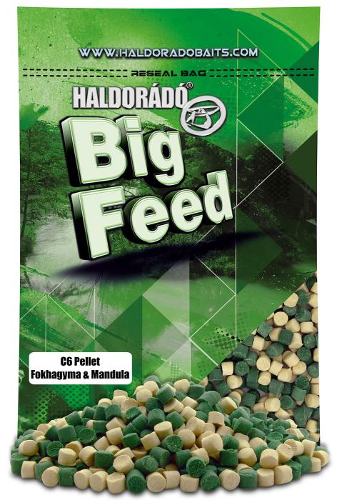 Haldorado Big Feed - C6 Pellet - Capsuna & Ananas 0.9kg, 6 mm 2