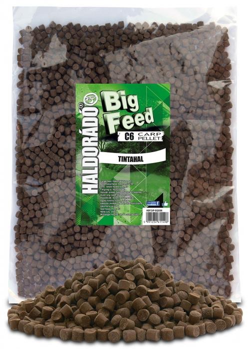 Haldorado Big Feed - C6 Pellet - Capsuna & Ananas 2.5kg, 6 mm 2