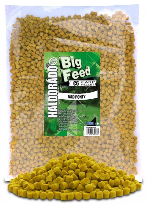 Haldorado Big Feed - C6 Pellet - Capsuna & Ananas 2.5kg, 6 mm 1