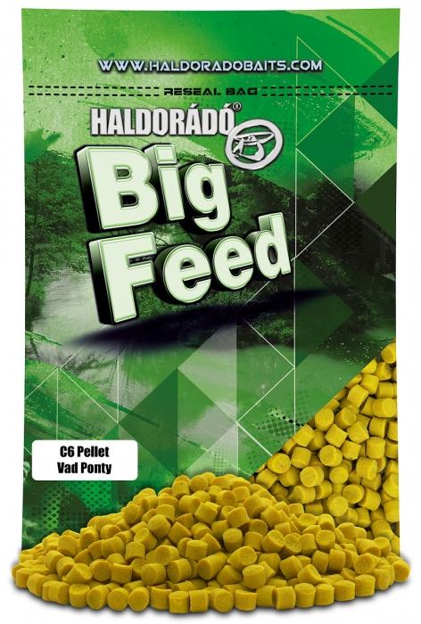 Haldorado Big Feed - C6 Pellet - Capsuna & Ananas 0.9kg, 6 mm 1
