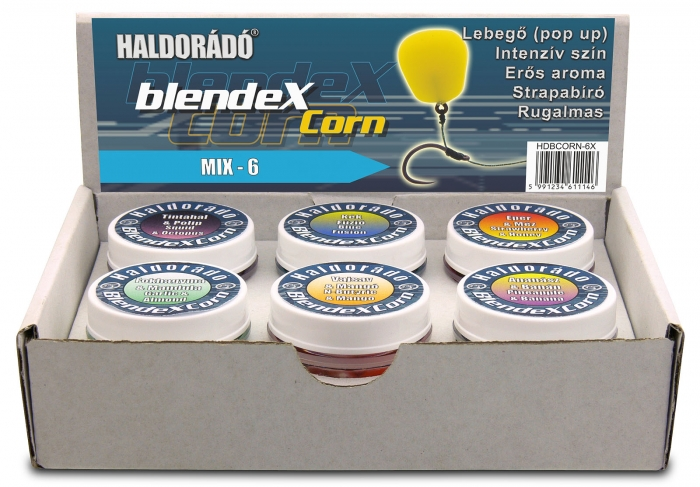 Haldorado BlendexCorn - Squid + Octopus 10boabe/cutie 7