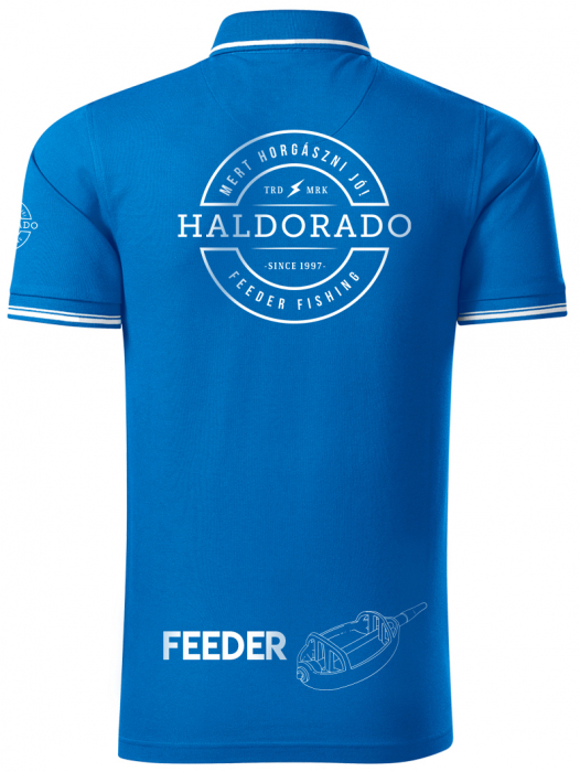 """Haldorado Feeder Team Tricou polo cu guler Perfection """"S"""" 15"""