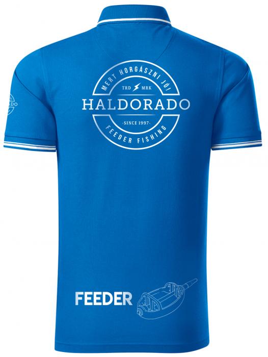 """Haldorado Feeder Team Tricou polo cu guler Perfection """"S"""" 16"""