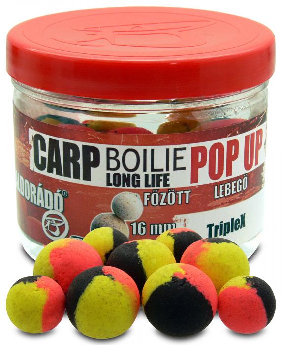 Haldorado Carp Boilie Long Life Pop Up - Sweet Pineapple 40g/16mm 1