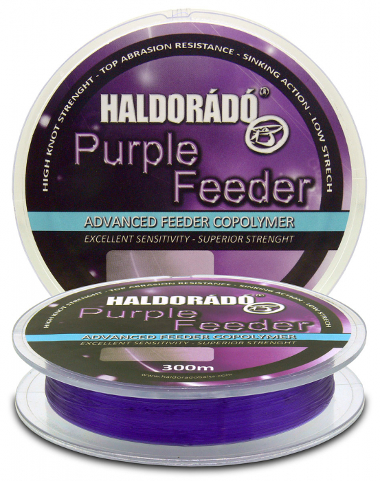 Haldorado Purple Feeder 0.18mm/300m - 4.55kg 0