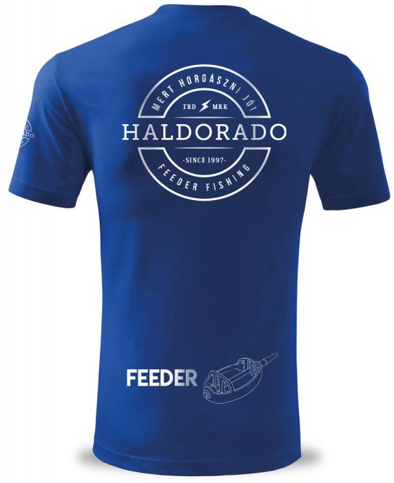 """Haldorado Feeder Team Tricou polo classic """"S"""" 5"""