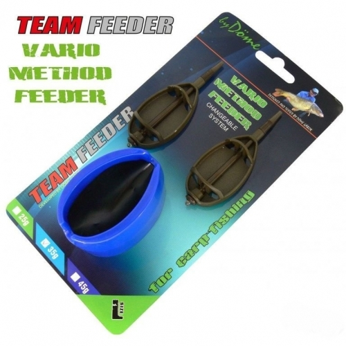 Haldorado Set Momitor Team Feeder Vario - L 25 g 3