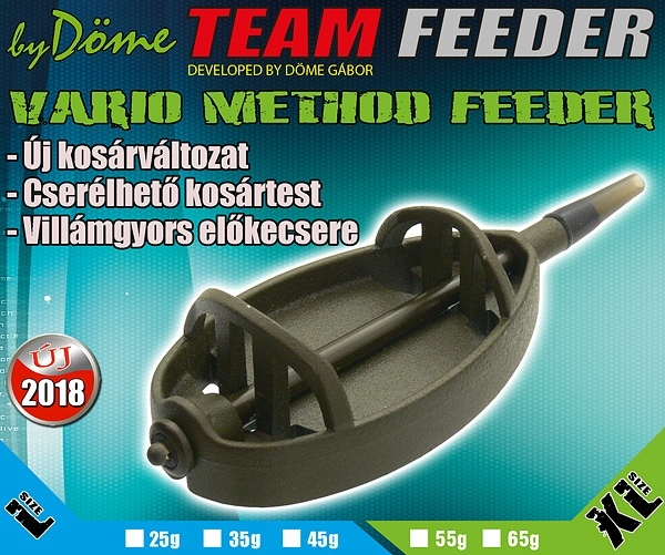 Haldorado Momitor Team Feeder Vario - L 25 g 0