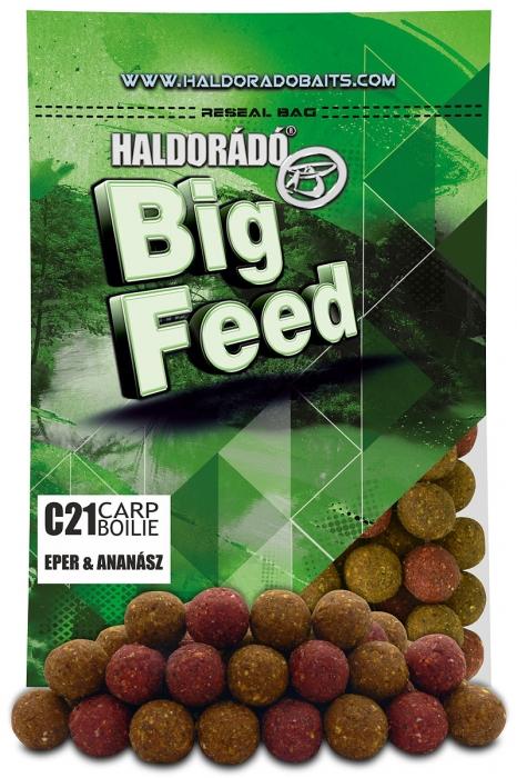 Haldorado Big Feed - C21 Boilie - Capsuna & Ananas 0.8kg, 21 mm [2]