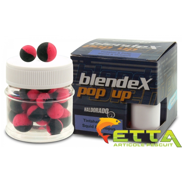 Haldorado Blendex Pop Up Big Carps 12, 14mm - Squid+Octopus - 20g 2