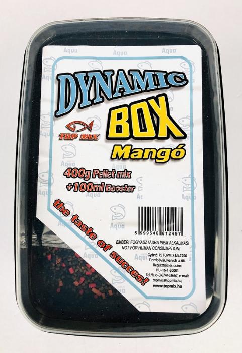 Top Mix Dynamic Pellet Box  - Squid 400g+100ml aroma 1