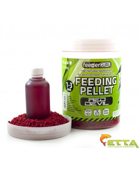 Timar Feeding Pellet - Green Betain(peste+scoica) 500g+100ml 0