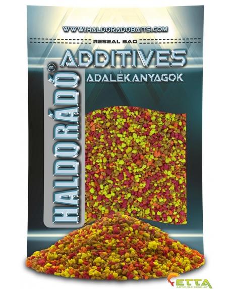Haldorado Pesmet englezesc - Crap colorat super dulce 800g 0
