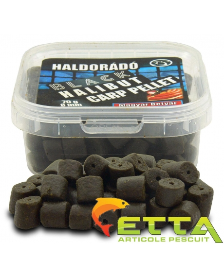Haldorado Black Halibut Carp Pellet - Demonul Rosu 70g 3