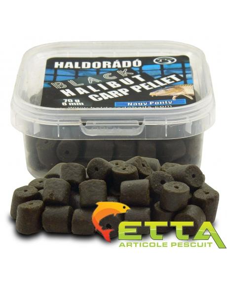 Haldorado Black Halibut Carp Pellet - Demonul Rosu 70g 1