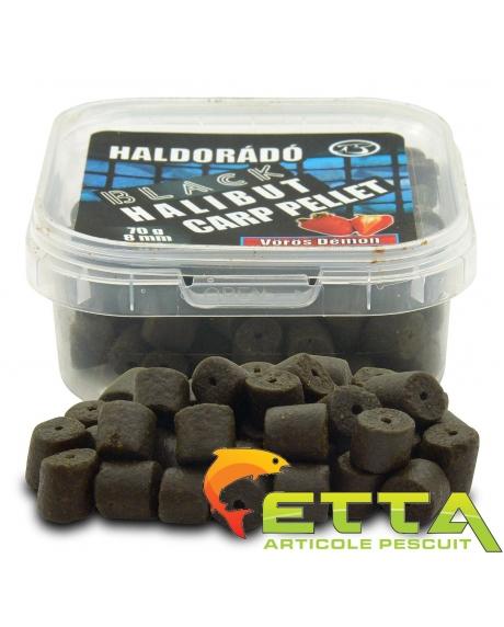 Haldorado Black Halibut Carp Pellet - Demonul Rosu 70g 2