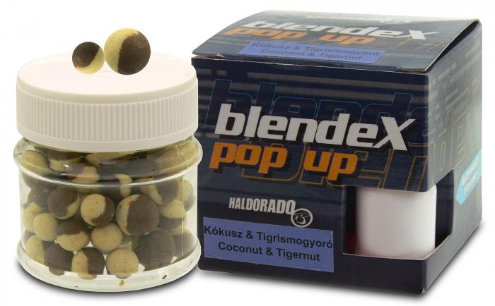Haldorado BlendeX Pop Up Method 8, 10 mm - Cocos + Alune tigrate 0