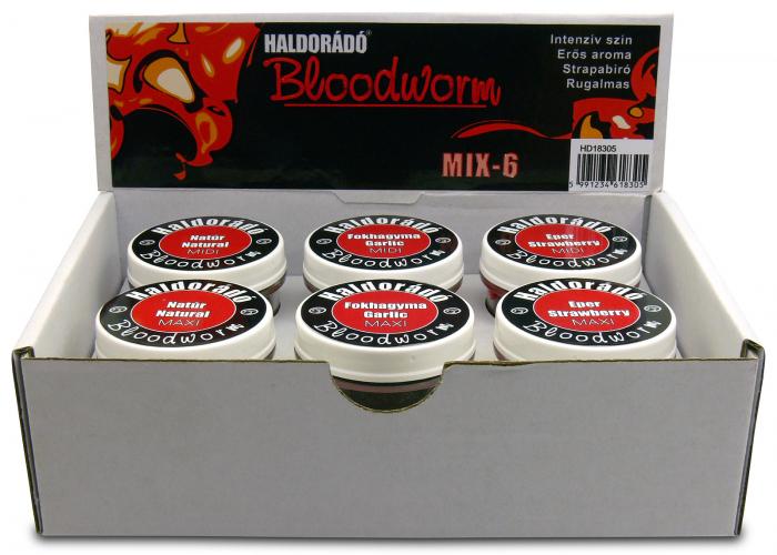 Haldorado Bloodworm (Larve de tantari artificiale) - Natur midi [5]