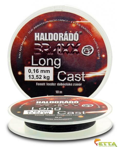 Haldorado Braxx Long Cast - Fir textil feeder de inaintas pt lansat 0,16mm/10m - 13,52kg 0