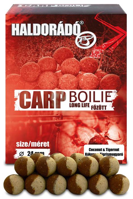 Haldorado Carp Boilie Long life 24mm - Cocos + Alune Tigrate 800g 0