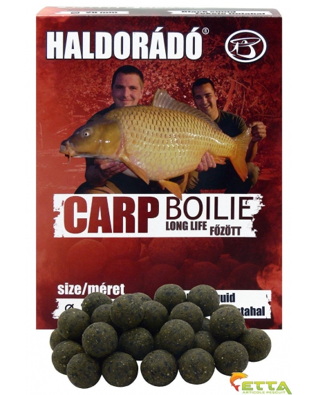 Haldorado Carp Boilie Long Life - Black Squid - 800g/20mm 0
