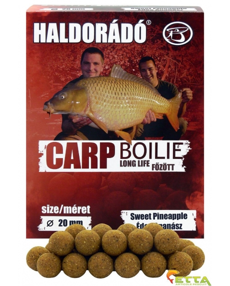 Haldorado Carp Boilie Long Life - Sweet Pineapple - 800g/20mm 0