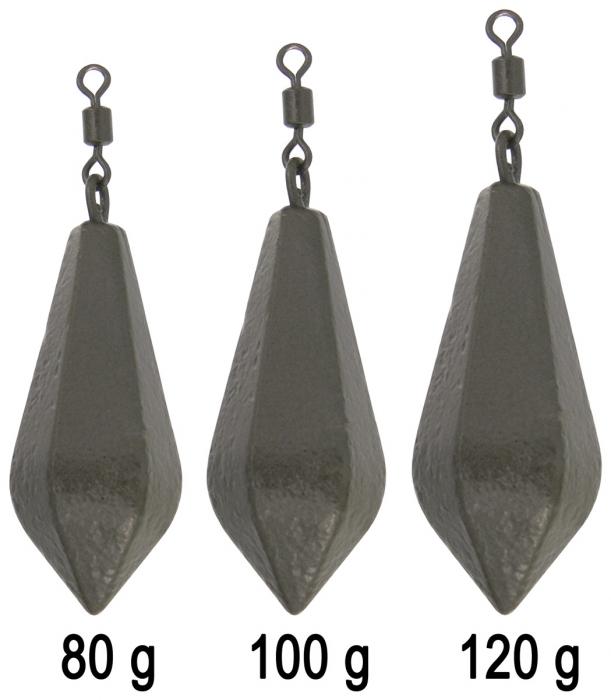 Haldorado Hexagonal Lead Swivel 80g [1]