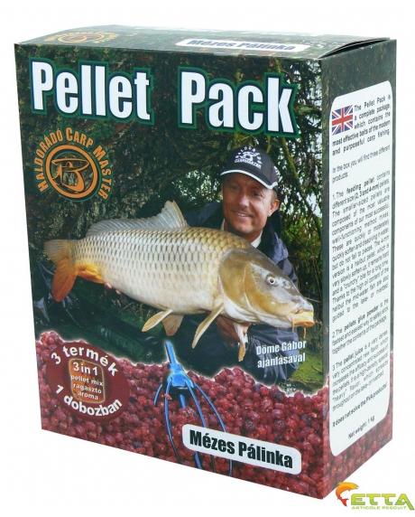 Haldorado Pellet Pack - Demonul Rosu 1Kg 3