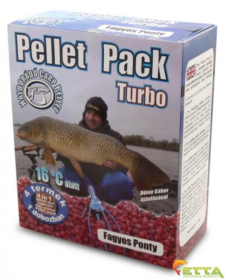 Haldorado Pellet Pack Turbo - Crap Apa Rece 1.1Kg 0