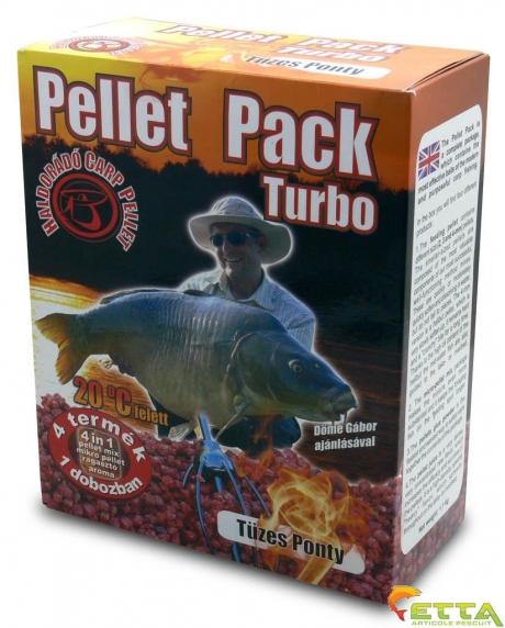 Haldorado Pellet Pack Turbo - Crap Apa Calda 1.1Kg 0