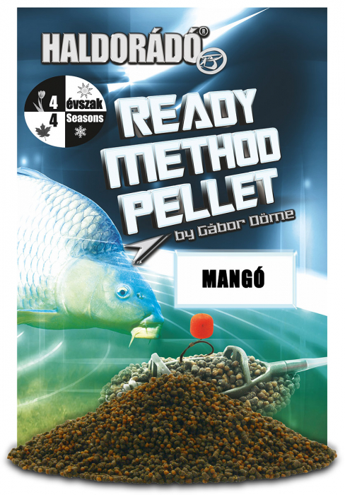 Haldorado Ready Method Pellet - Mango 400g 0