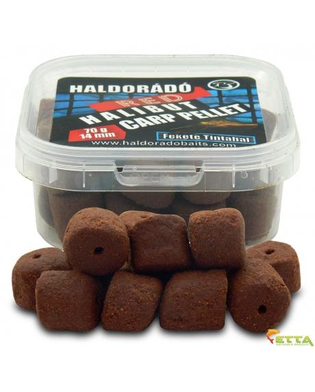 Haldorado Red Halibut Carp Pellet - Black Squid 70g 0