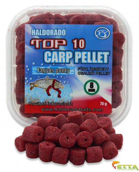Haldorado Top 10 Carp Pellet - Crap Apa Rece 70g 0