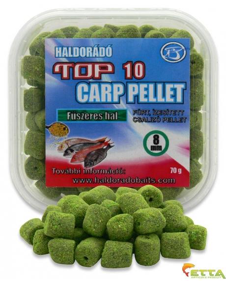 Haldorado Top 10 Carp Pellet - Pelete Negre 70g 0
