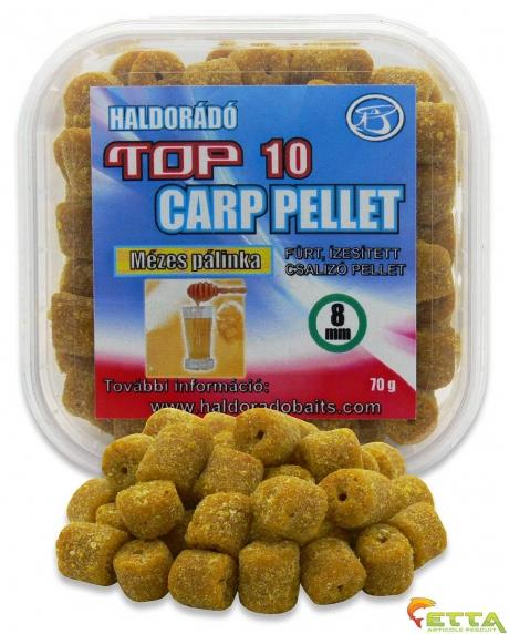 Haldorado Top 10 Carp Pellet - Miere Palinca 70g 0